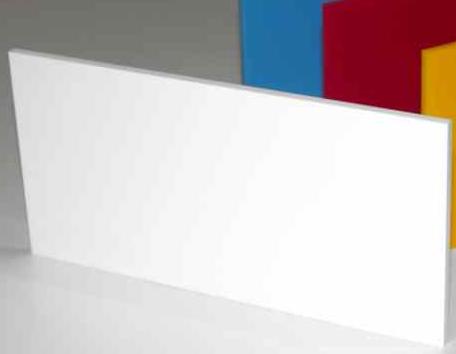 A4 Acrylic Gloss White 210x297x2mm CAST Black SHEET UV Stable Plastic Sheet