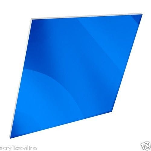 NEW Acrylic A3 Size Dark Blue Mirror 420 x 297 x 2mm CAST SHEET