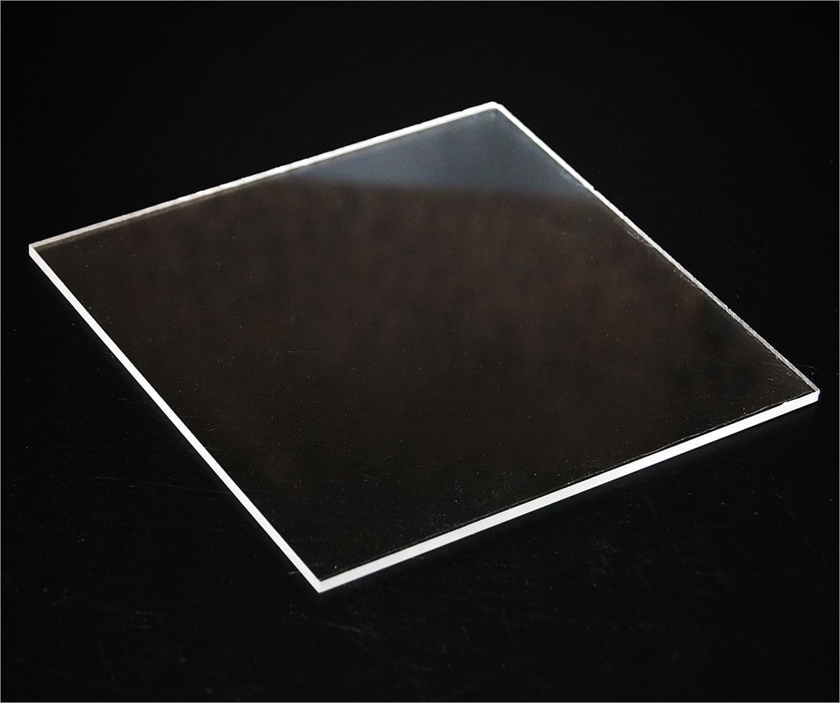 Acrylic Clear Sheet 300x600x2mm Clear CAST Sheet with Protective Film NEW