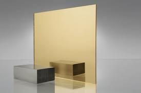 EuroMir Acrylic Gold Mirror 1525 x 2030 x 3mm Sheet