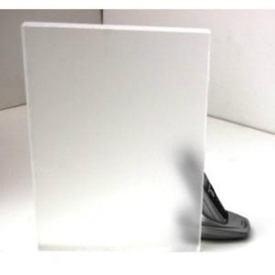 Acrylic Cast Frosted Sheet 300 x 600 x 3mm Artic Ice Acrylic