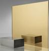 Acrylic Gold Mirror Cast Sheet 300 x600 x 3mm Single Side