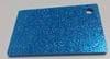 Acrylic Sky Blue Glitter Sheet 300 x 600 x 3mm