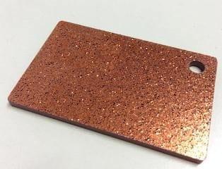 Acrylic Bronze Glitter Sheet 300 x 600 x 3mm