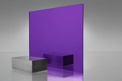 A3 420x297x2mm Acrylic Purple Mirror Sheet Violet Mirror Single Side CAST Sheet