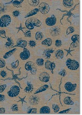 A4 Designer Recycled Paper 120gsm: Beachside (Sailor Blue)