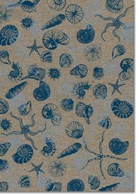 A4 Designer Recycled Paper 120gsm: Beachside (Sailor Blue)