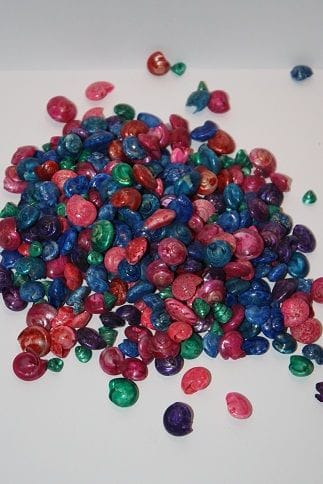Bulk | Shells | Umbonium Dyed Mix | 1kg