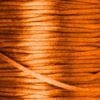 Orange | Silk Cord - Rat Tail | 1m