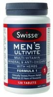Swisse Mens Ultivite 120 tablets