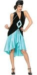 Flapper turquoise