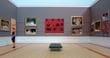 NSW Art Gallery Gordon Bennett Exhibition - 25 scale