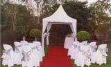 WEDDING CANOPY IN GARDEN