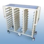 "The ""Whelan"" Triple Bay 30 x Tray service trolley"