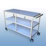 Clean linen trolley