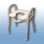 Standard over toilet / shower stool
