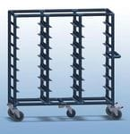 Triple Bay 21 x Tray service trolley