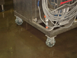 Blue Tongue Brewery mounted rotacaster multidirectional wheels on thier equipment and saved money on unnecessary heavy lifting equipment.
