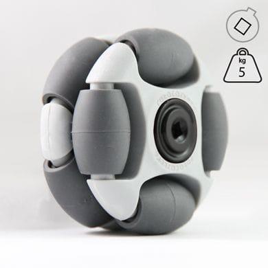 Rotacaster 48mm Double 35A, polyurethane, Vex Hub