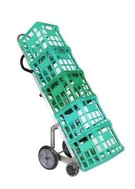 Milk Crate Rotatruck, BC250/R3, Ext. Vert Loop Handle, Ext. Hi Strength Frame, Crate Toe