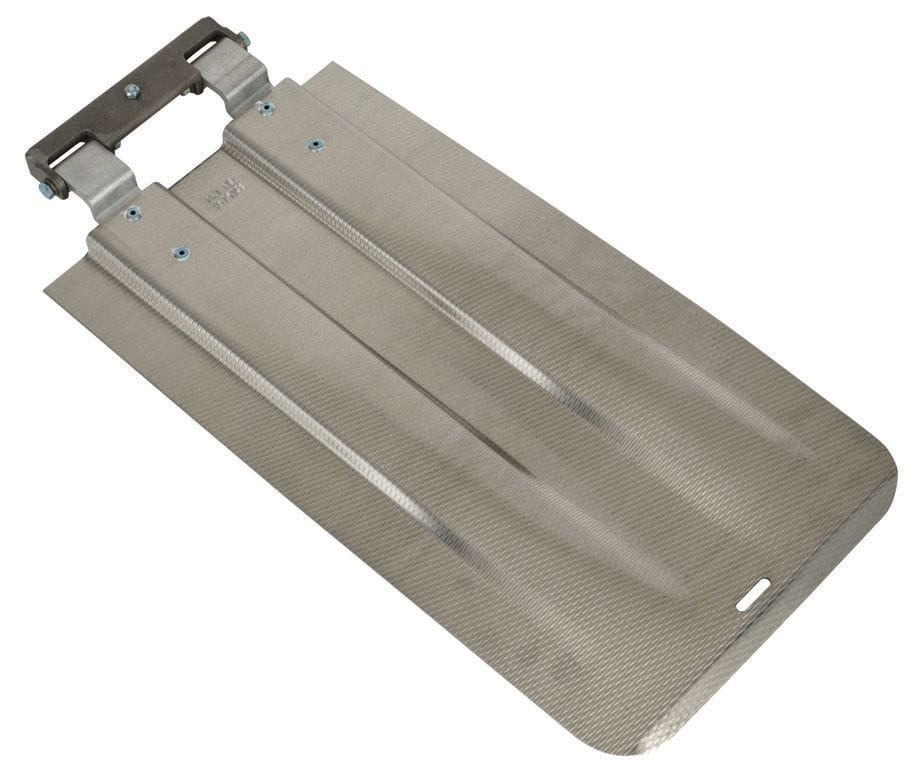 """Toe, Folding Extension, 610x305mm (24""""x12"""") formed low profile"""