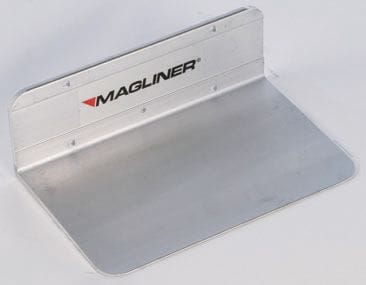 "Toe Plate, Alum. Extruded  406x305mm (16""x12"")"