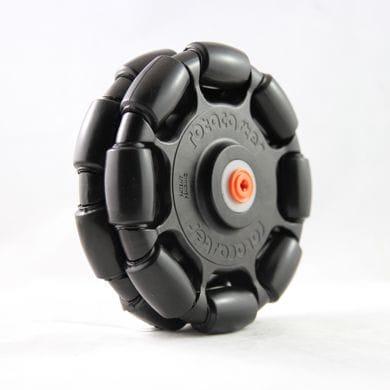 Rotacaster 125mm Double, 85A TPE, LegoX hub, Black/Black