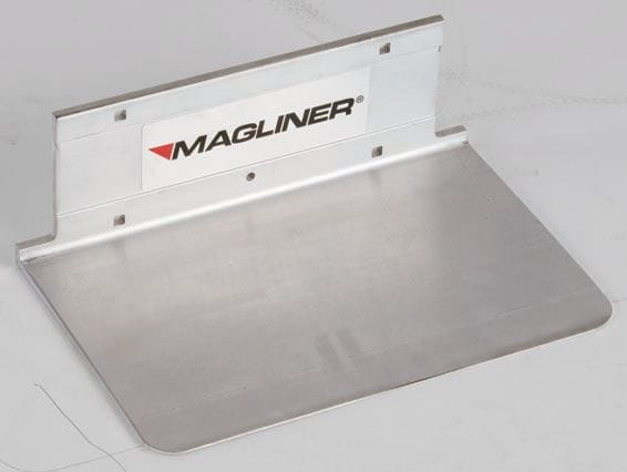 """Toe Plate, Alum. Extruded  356x190mm (14""""x7.5"""") Recessed"""