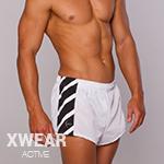 White Sport Shorts