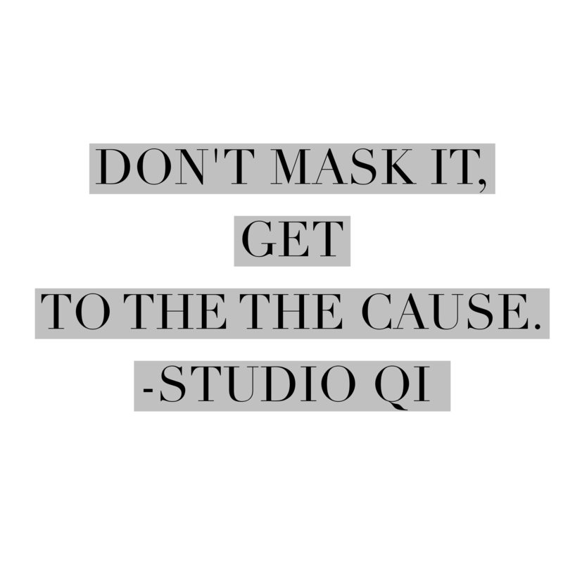 Don't mask it, get to the cause