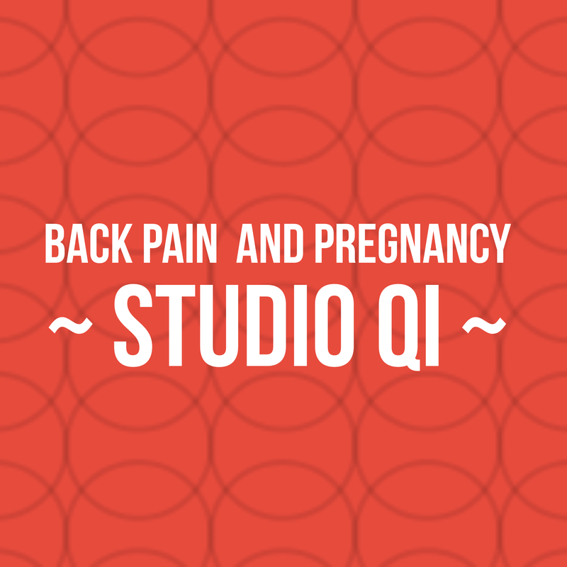 Back pain in pregnancy