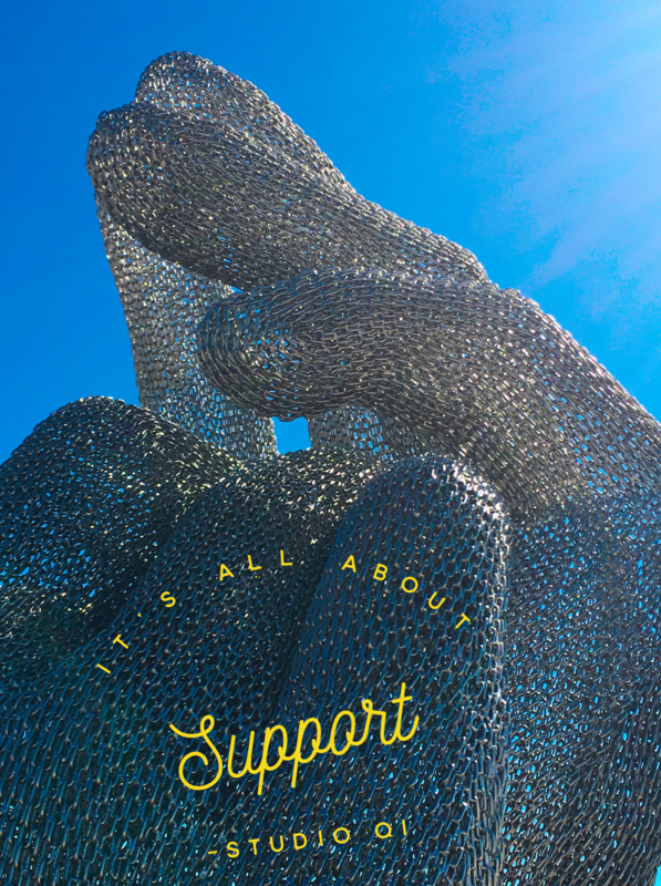 Support, Acupuncture, it holds you!