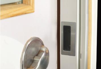 Removable Doorstop - Aluminium