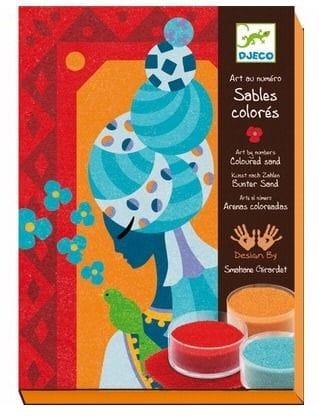 DJECO - Blue Princess Coloured Sand