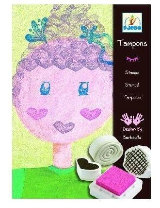 DJECO - Stamps - Mischievous Girls