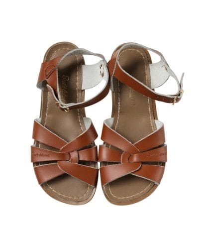 Saltwater Sandal - Tan Adult