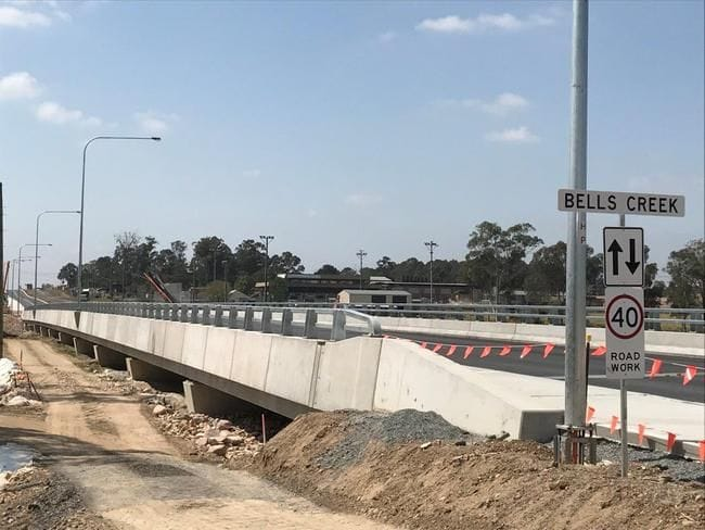 NEW FLOOD-FREE LANES OPEN TO TRAFFIC IN SCHOFIELDS