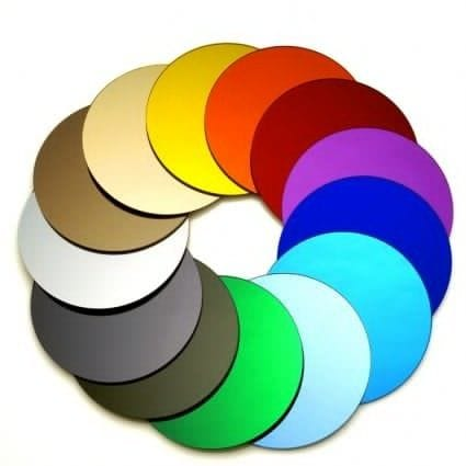 EuroMir Acrylic Colour Mirror Sheet