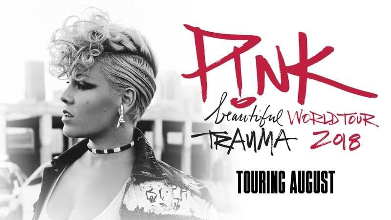 P!NK Beautiful Trauma World Tour