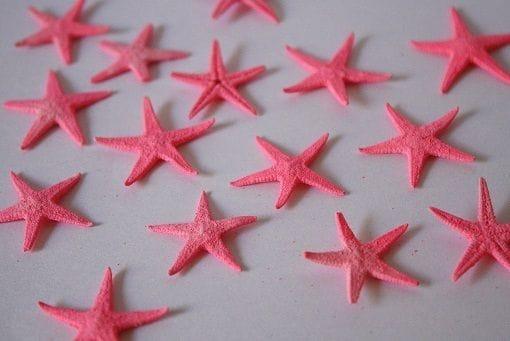 Baby Starfish | 100 Pack | Hot Pink