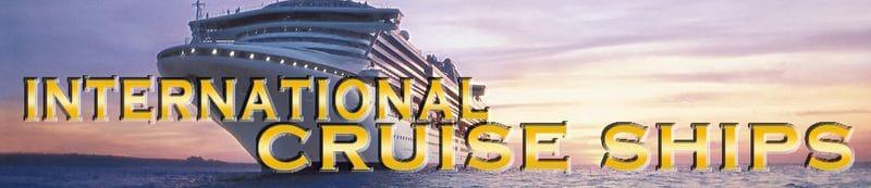 International Cruise Ship Tour 2017