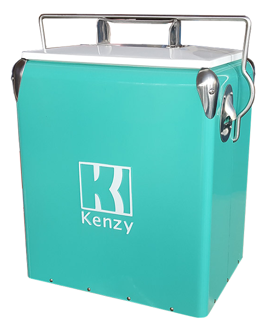 17L Seafoam Retro Cooler