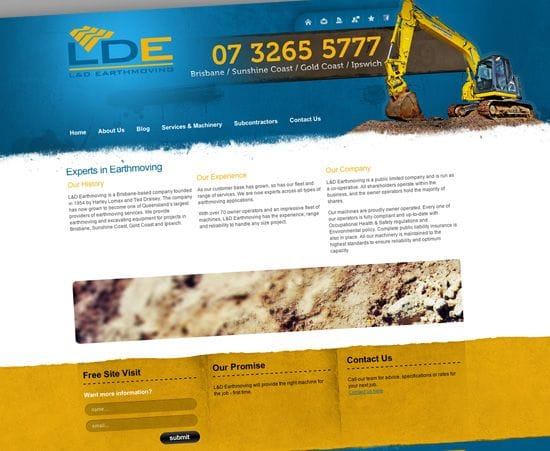 Client Spotlight - L&D Earthmoving