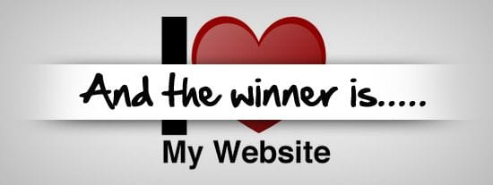 And the winner of our Valentine's Day Competition is...