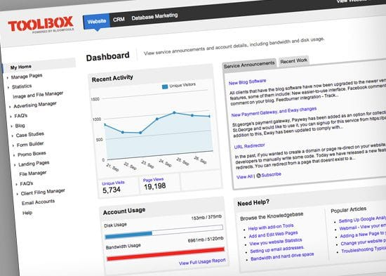 New look client interface: cleaner, easier, modern