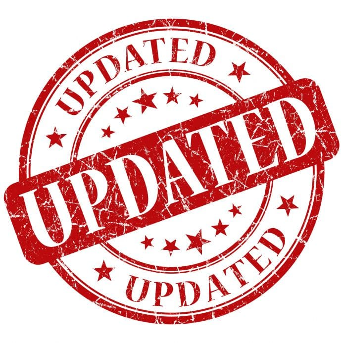 Events Software Update