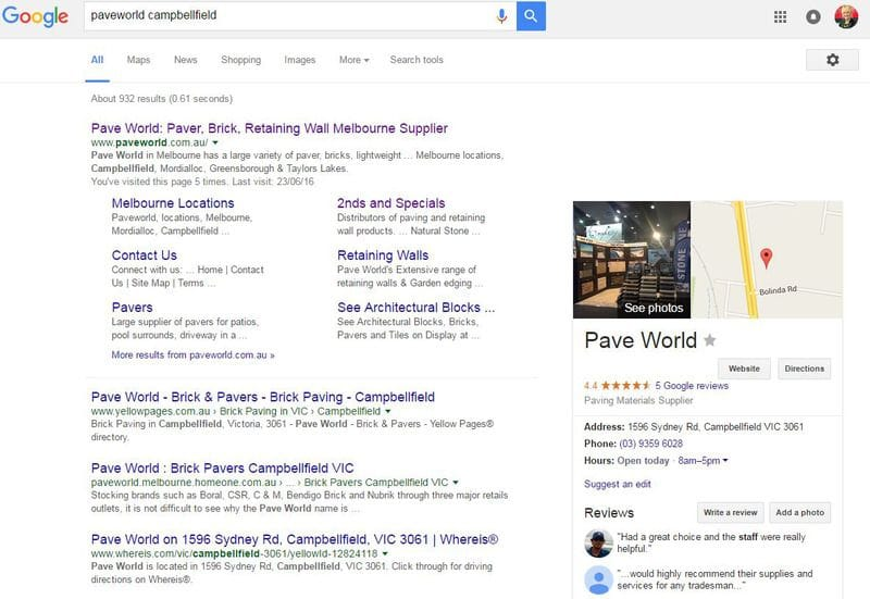 What a 'Google My Business' photo is really worth
