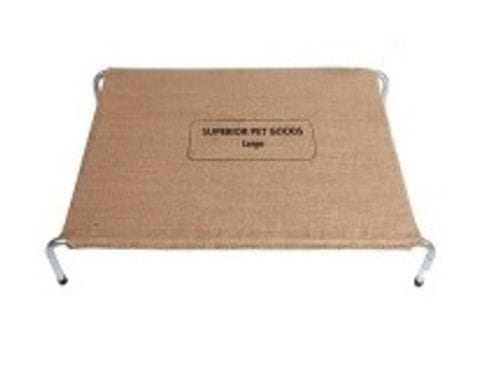 Hessian Dog Bed Replacement Covers