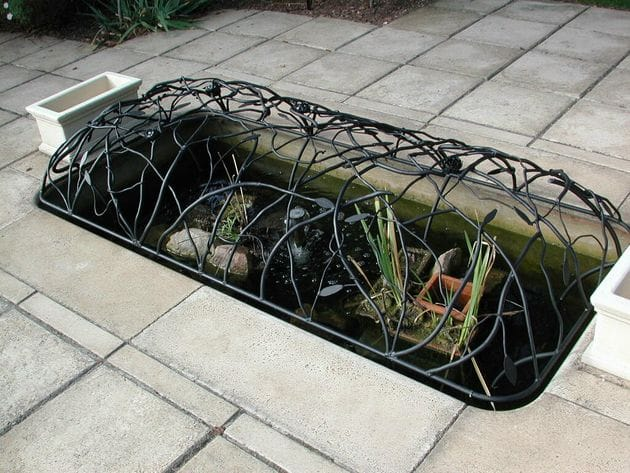 Furniture for Fish pond cover ideas