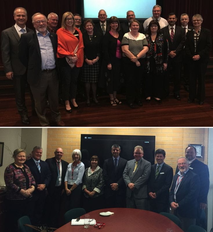 Meetings with NSW Principal Groups